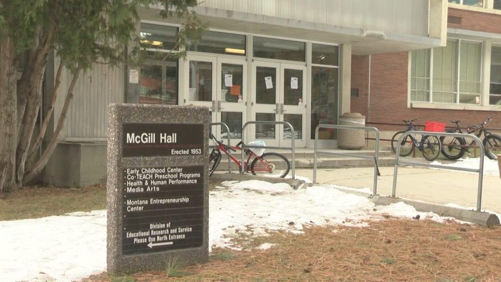 McGill Hall University of Montana
