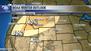 Winter Forecast 2018-2019 for Montana